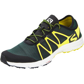 Salomon Crossamphibian Swift Shoes Men Darkest Spruce/Black/Sulphur Spring